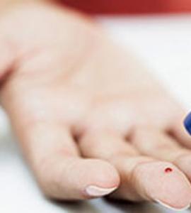 Exame de sangue para detectar diabetes
